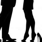gambe uomo donna